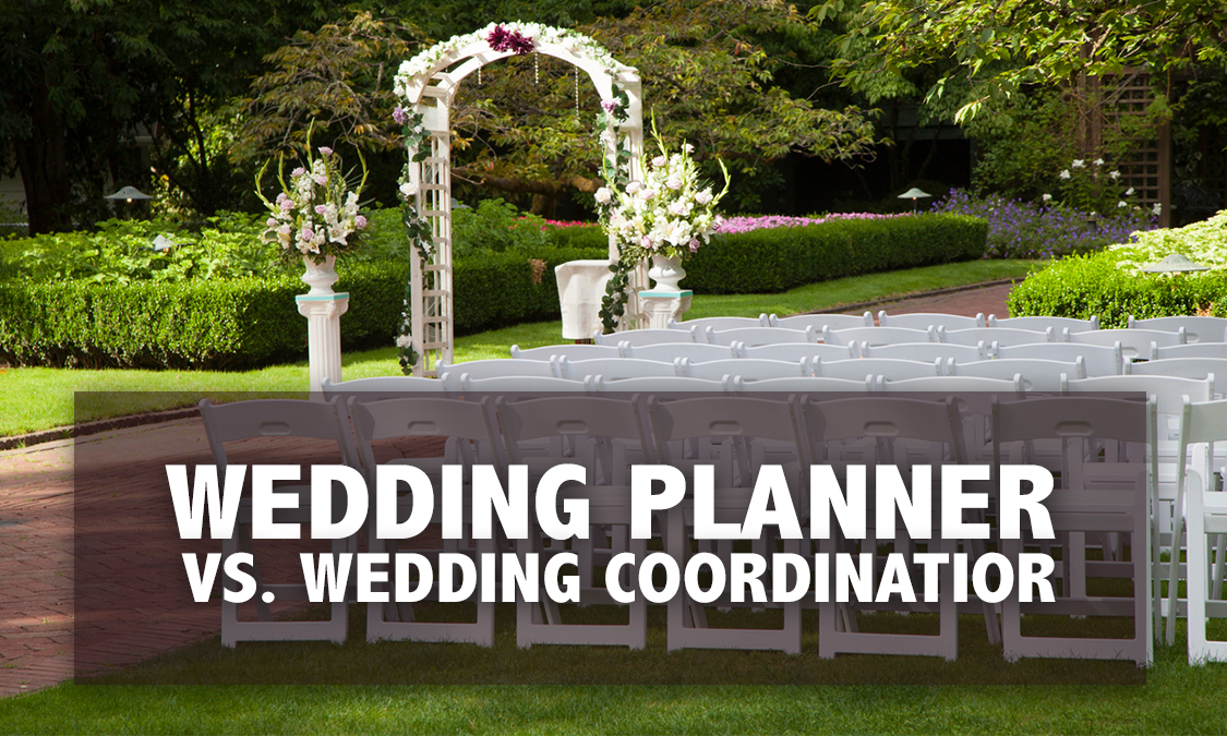 Wedding Planner vs. Wedding Coordinator?