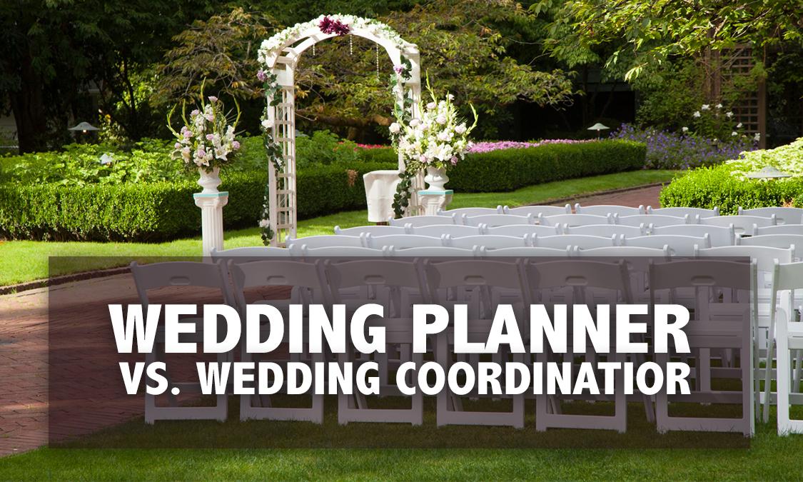 Wedding Planner vs. Wedding Coordinator?