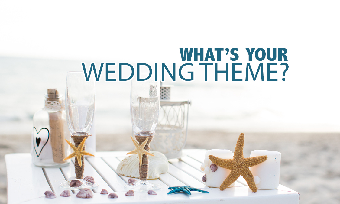 2017 Most Popular Wedding Themes
