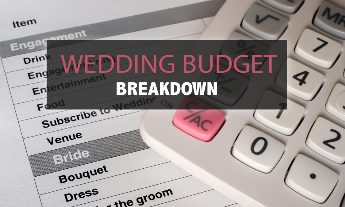 2017 wedding budget breakdown my wedding financing