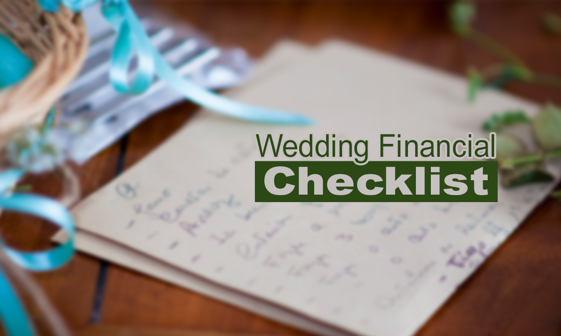 Wedding Checklists for Financial Success